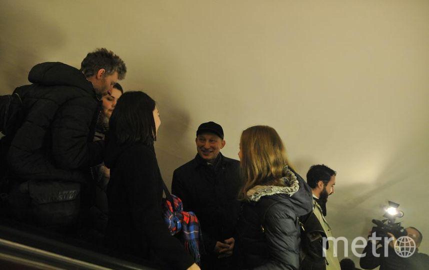 Эмили, Игнасио и Ноа в метро. Фото Максим Томарев