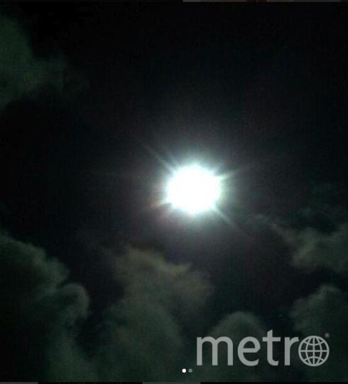 Полная Луна уже заворожила полмира своим ярким светом. Ленобласть. Фото https://www.instagram.com/natashasazanova/