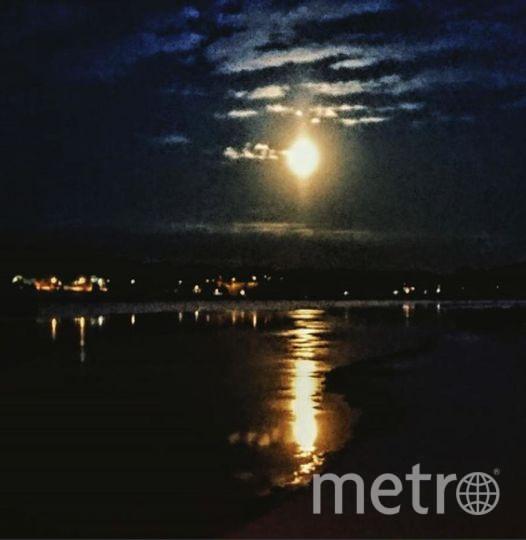 Полная Луна уже заворожила полмира своим ярким светом. Финляндия. Фото https://www.instagram.com/suomatar/
