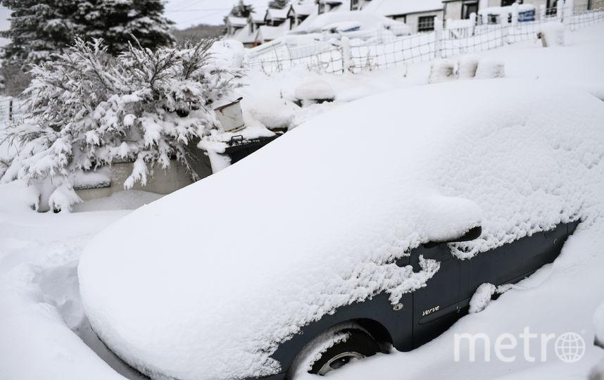Cнега в Петербурге ожидают в начале февраля достаточно. Фото Getty