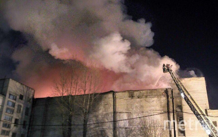 фото пожара из соцсетей. Фото vk.com