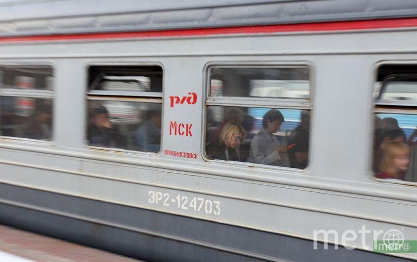16-летний подросток погиб под колёсами электрички в Подмосковье. Фото Василий Кузьмичёнок
