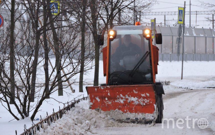 Уборка Петербурга с 22 по 28 января. Фото gov.spb.ru/gov/otrasl/blago