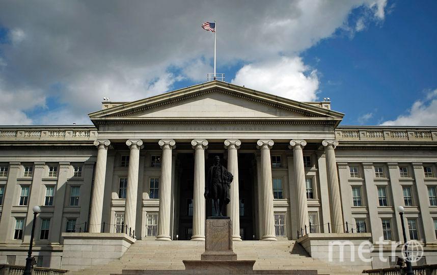Министерство финансов США. Фото Getty