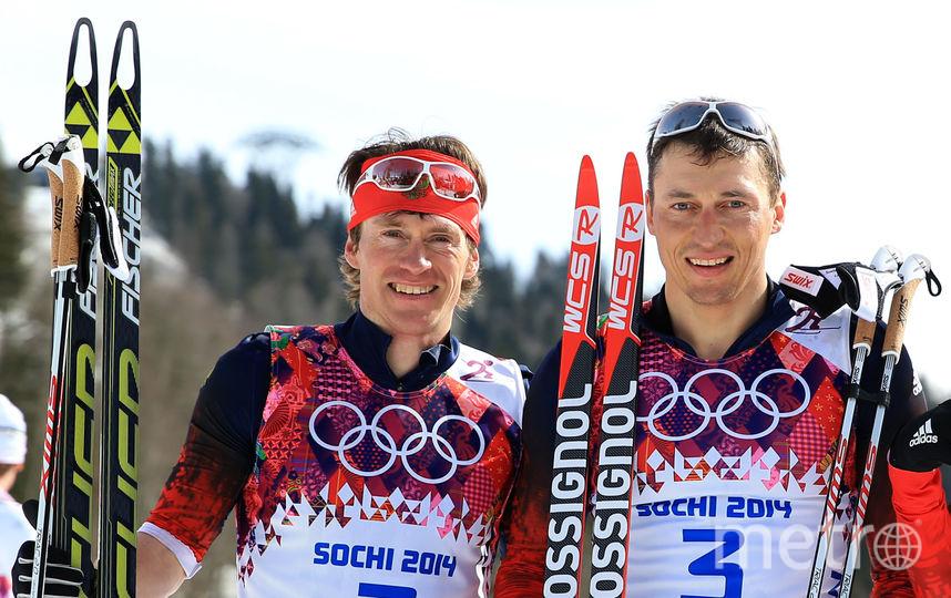 Максим Вылегжанин и Александр Легков – в числе оправданных спортсменов. Фото Getty