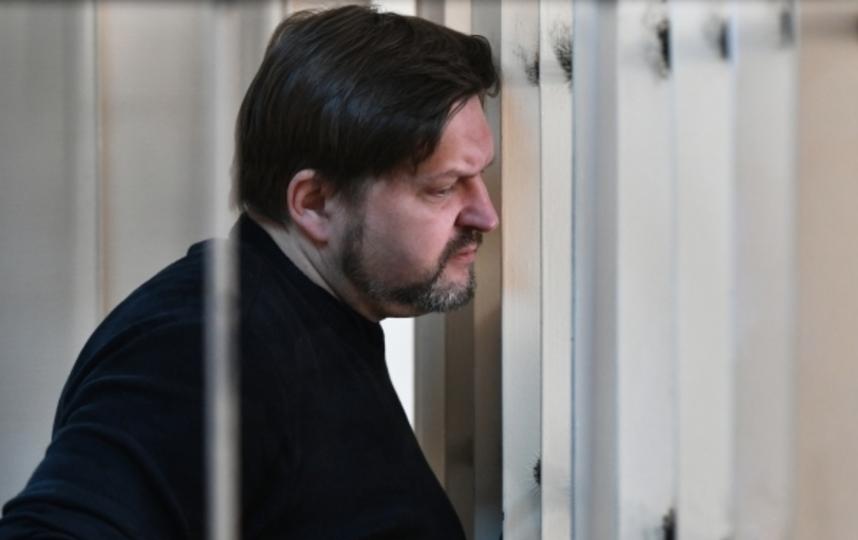 Экс-губернатор Кировской области Никита Белых, обвиняемый во взяточничестве, во время оглашения приговора в Пресненском суде Москвы. Фото Максим Блинов, РИА Новости