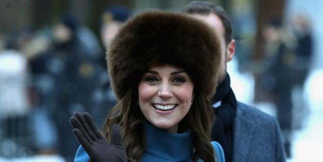 Кейт Миддлтон и принц Уильям находятся с официальным визитом в Норвегии.