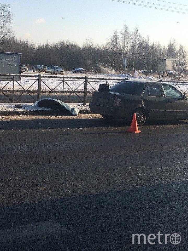 Фото с места аварии сделали очевидцы. Фото vk.com