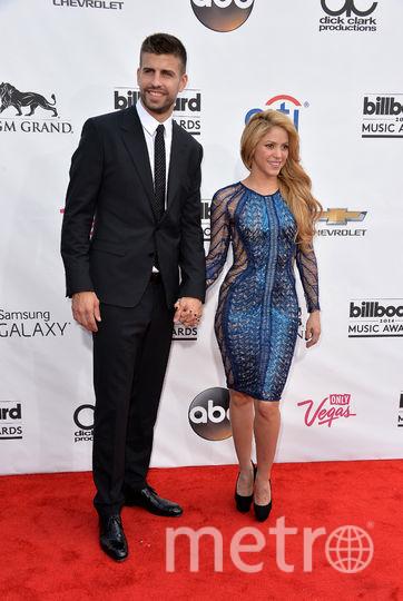 Шакира и Жерар Пике. Фото Getty
