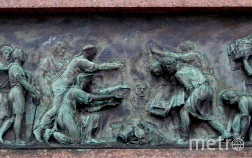 Барельеф на памятнике. Фото Предоставлено организаторами