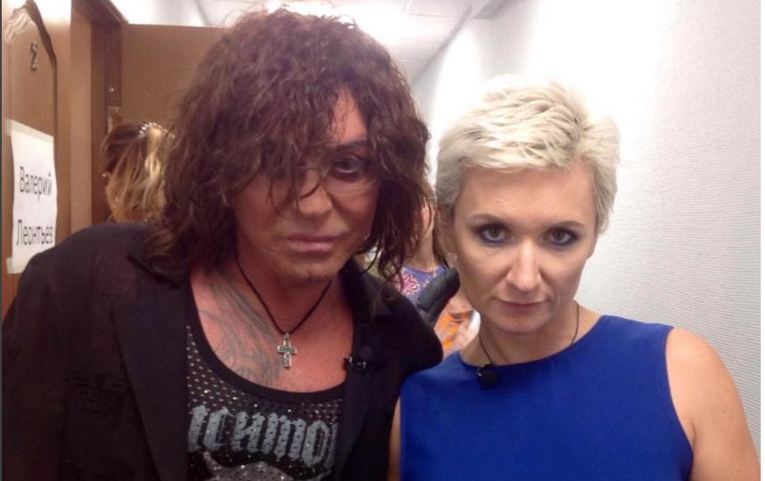 Леонтьев с Дианой Арбениной. Фото instagram.com/valera_leontiev