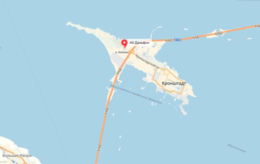 """Аэродром """"Бычье поле"""" находится рядом с КАД. Фото яндекс.карты."""