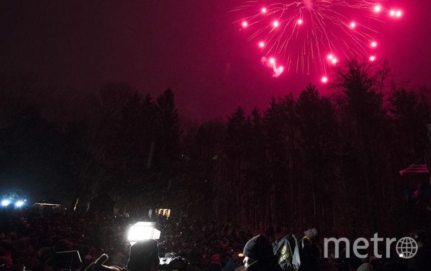 """Салют в честь """"Дня Сурка"""". Фото AFP"""