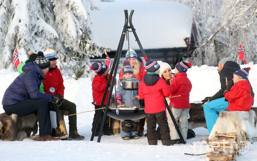 На горнолыжном курорте в Норвегии. Фото Getty