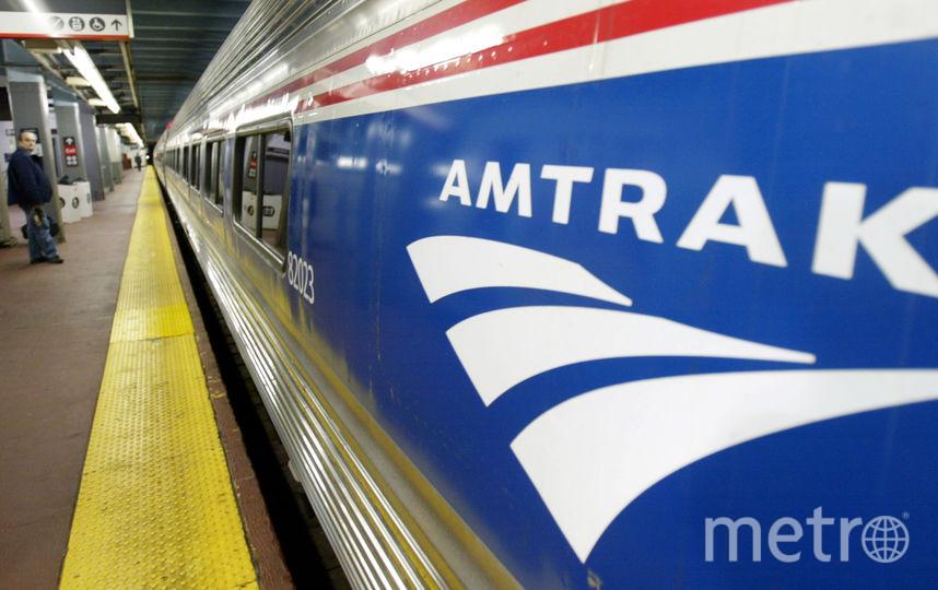 Поезд Amtrak. Фото Getty
