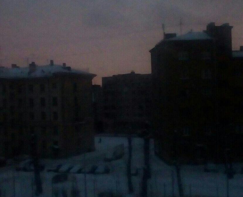 В Петербурге выясняют причины блэкаута. Фото Скриншот instagram.com/ccloud_elf/