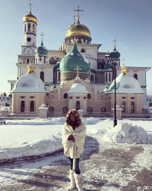 Анастасия Волочкова. Фото Instagram @volochkova_art