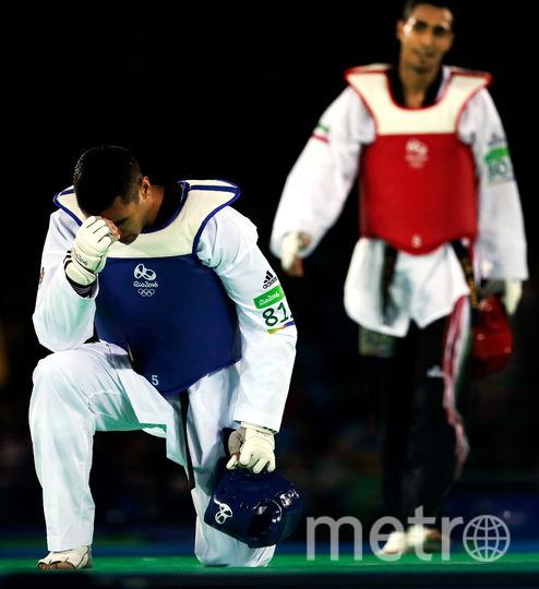 В соревнованиях тхэквондистов в Рио Пита проиграл в первом раунде. Фото Getty