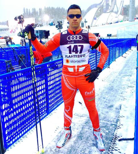 Первым официальным стартом Питы была гонка на чемпионате мира 2017 года в Лахти. Фото Instagram.com/pita_tofua