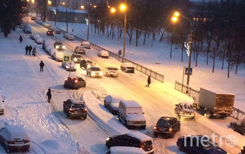 В Колпино на авария из двух машин. Фото vk.com