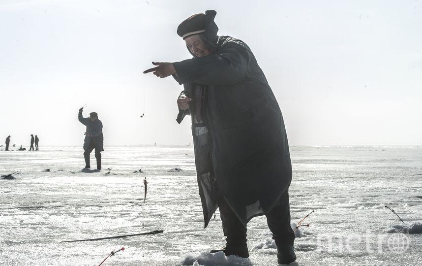 """Такая рыбалка может плохо закончиться. Фото """"Metro"""""""
