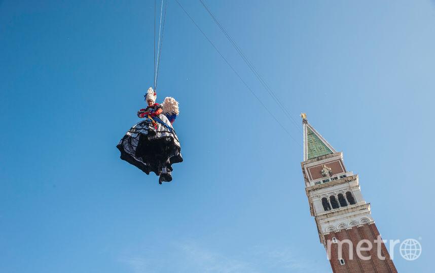Карнавал в Венеции-2018. Фото Getty