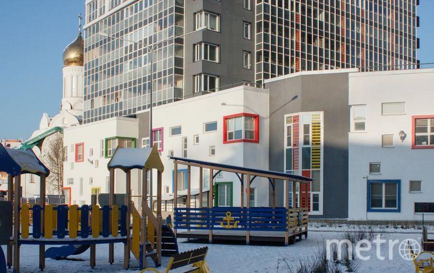 """Детские дошкольные учреждения построены по программе """"Соцобъекты в обмен на налоги"""". Фото СК """"Полис Групп"""""""