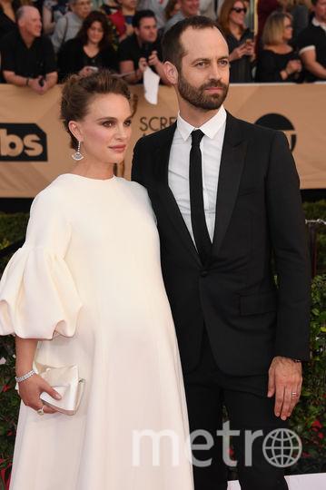 Натали Портман с мужем. Фото Getty