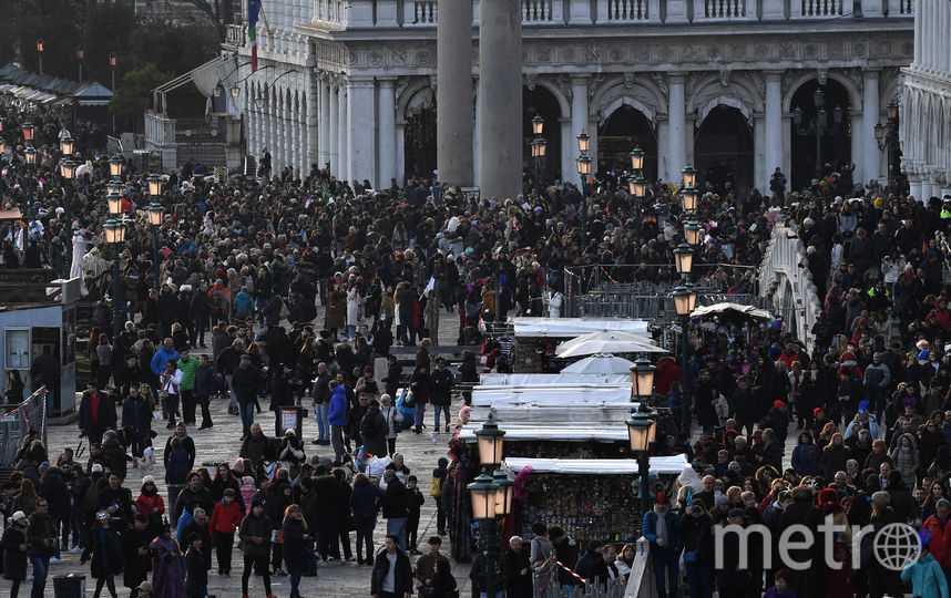 Венецианский карнавал-2018. Фото AFP