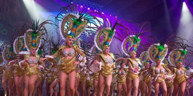 Карнавал в Санта Крус де Тенерифе.