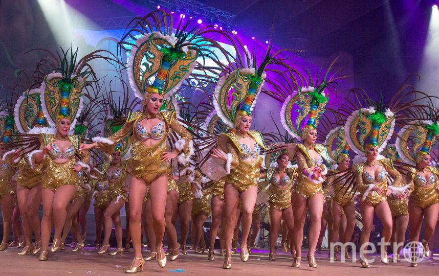 Карнавал в Санта Крус де Тенерифе. Фото AFP
