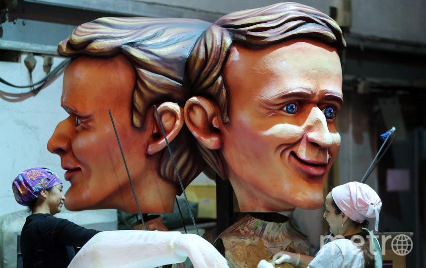 Подготовка к традиционному карнавалу в Ницце (Франция). Фото AFP