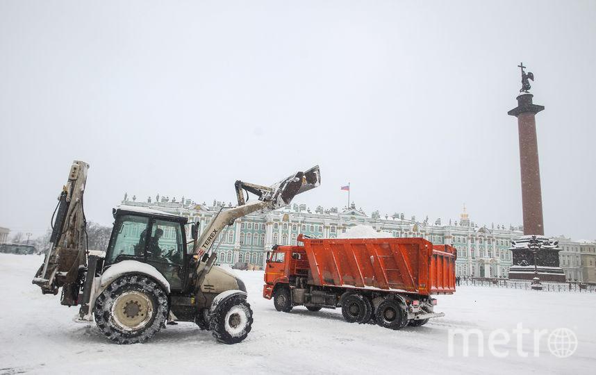Уборка снега. Фото Интерпресс