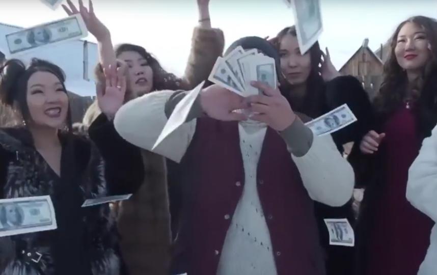 Буряты сняли пародию на рекламу казино. Фото Все - скриншот YouTube
