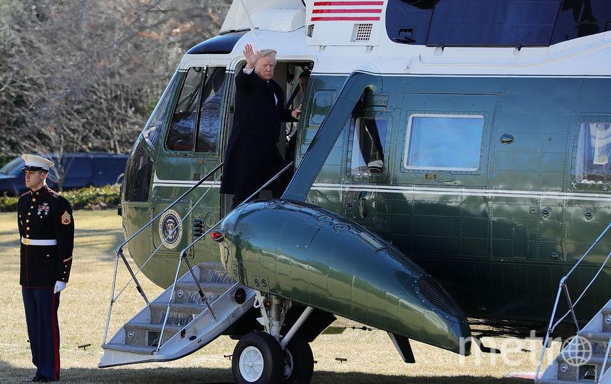 Мелания Трамп и президент США Дональд Трамп. Фото Getty