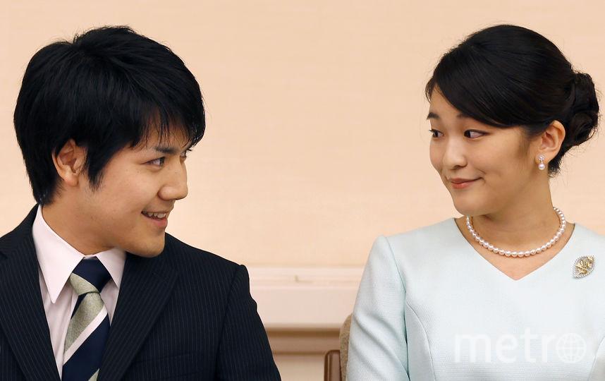 Принцесса Мако и её жених Кэй Комуро. Фото AFP