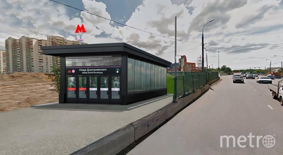 Макет дизайна одной из станций Кожуховской линии. Фото https://www.facebook.com/profile.php?id=1547927718