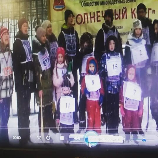Во время исполнения гимна Российской Федерации. Фото www.instagram.com/nikolaevich16