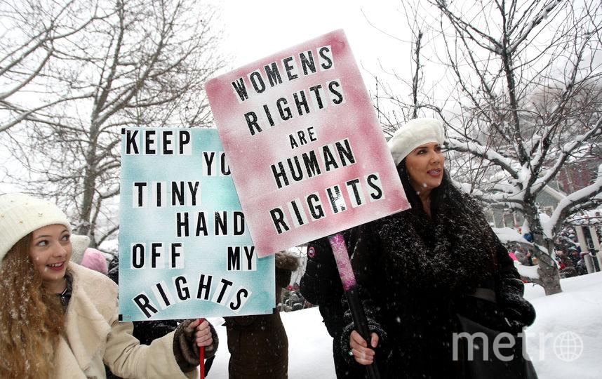 Участницы Женского Марша в США. Фото Getty