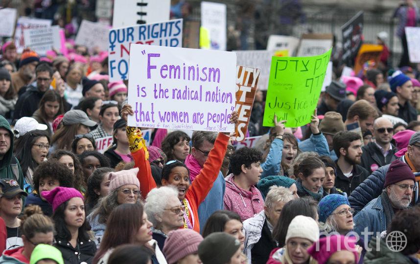 Женский Марш в Вашингтоне. Фото Getty