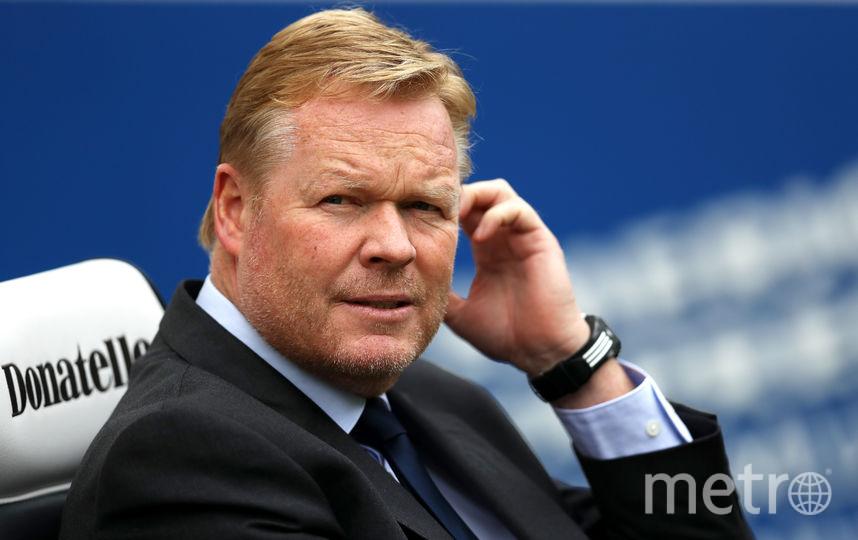 Новый тренер сборной Голландии Рональд Куман. Фото Getty