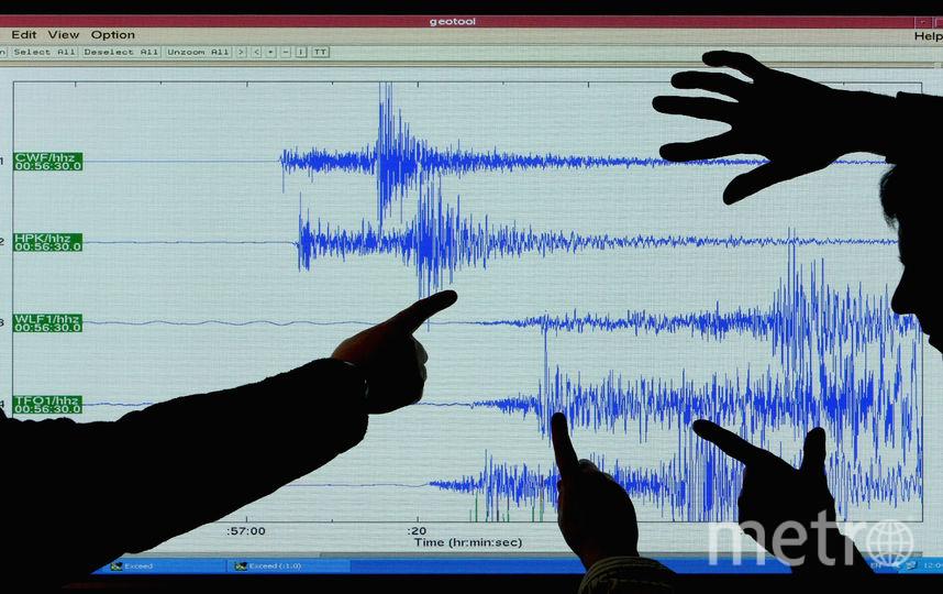 Землетрясение. Фото Getty