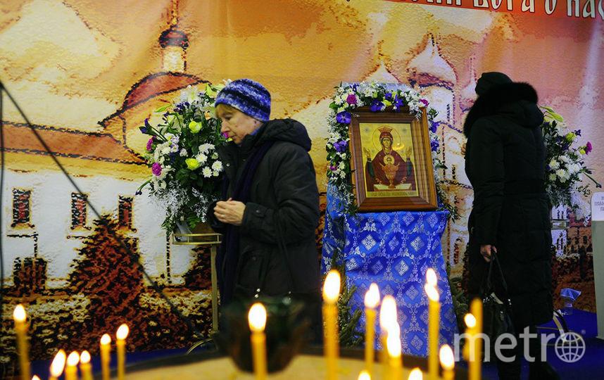 """В Петербург прибыл список многовековой иконы, исцеляющей от пьянства. Фото Пресс-служба ТО """"Духовное наследие"""""""