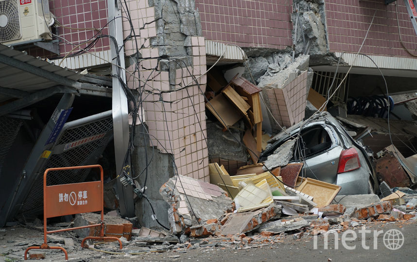 Последствия землетрясения на Тайване. Фото AFP