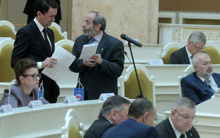 Заседание ЗакС в Петербурге, фотоархив. Фото http://gov.spb.ru