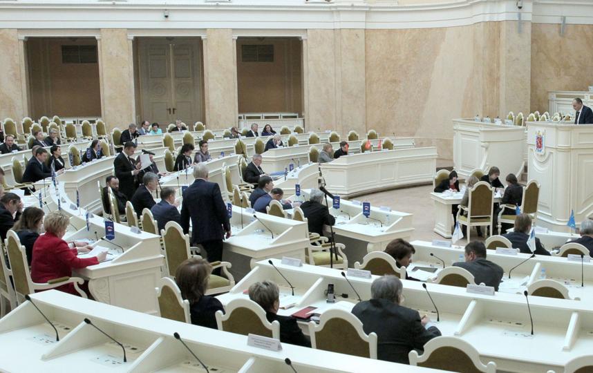 Заседание ЗакС в Петербурге, фотоархив. Фото http://www.assembly.spb.ru