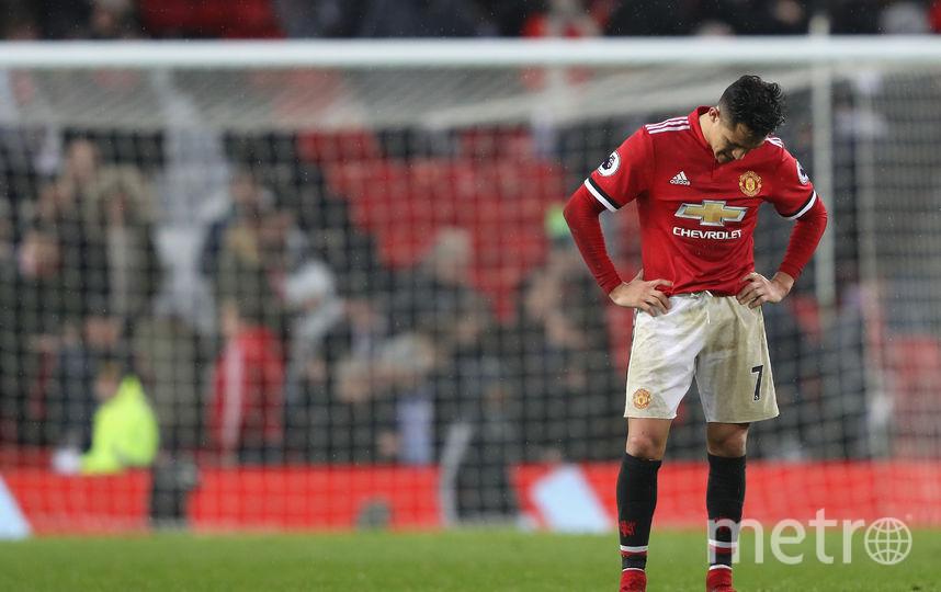 "Нападающий ""Манчестер Юнайтед"" и сборной Чили по футболу Алексис Санчес. Фото Getty"