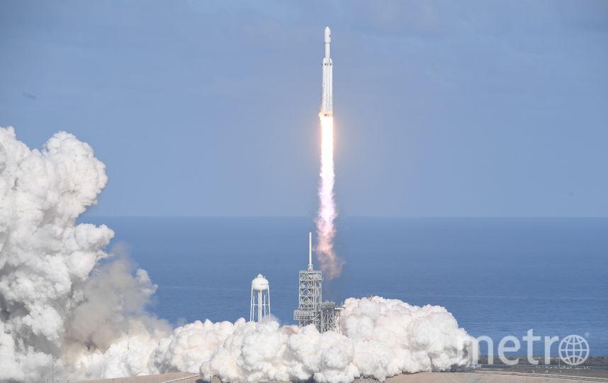 Запуск Falcon Heavy. Фото AFP