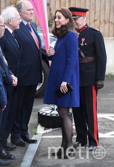 Беременная Кейт Миддлтон в Эссексе.