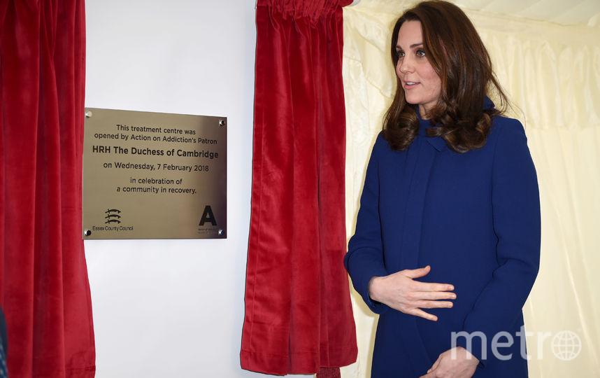 Беременная Кейт Миддлтон в Эссексе. Фото Getty